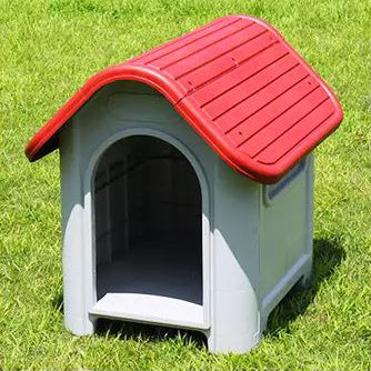 () Dog House, Red (PD-051R)