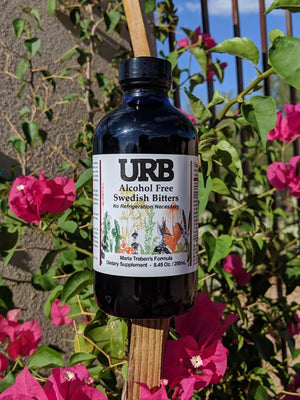 URB Alcohol Free Swedish Bitters 250ml Microbial Inoculant URB Natural