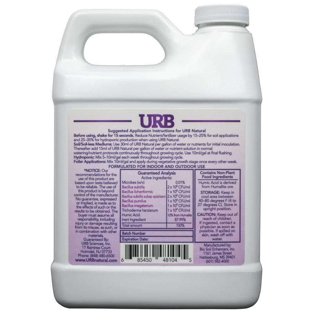 URB Natural 1 Liter Microbial Inoculant legalizeURB
