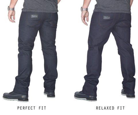 Compare Prefect Fit and Relaxed Fit Bullish Denim Jeans The Mick