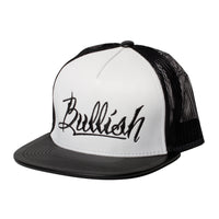 Bullish Leather Snapback