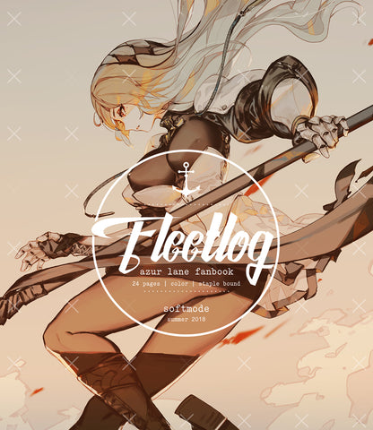 Azur Lane: Fleetlog Fanbook (2018) - Retrofit Edition