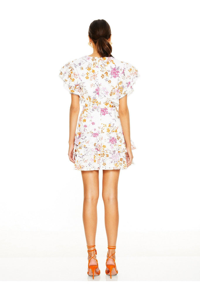 Jasmine Vines Mini Dress