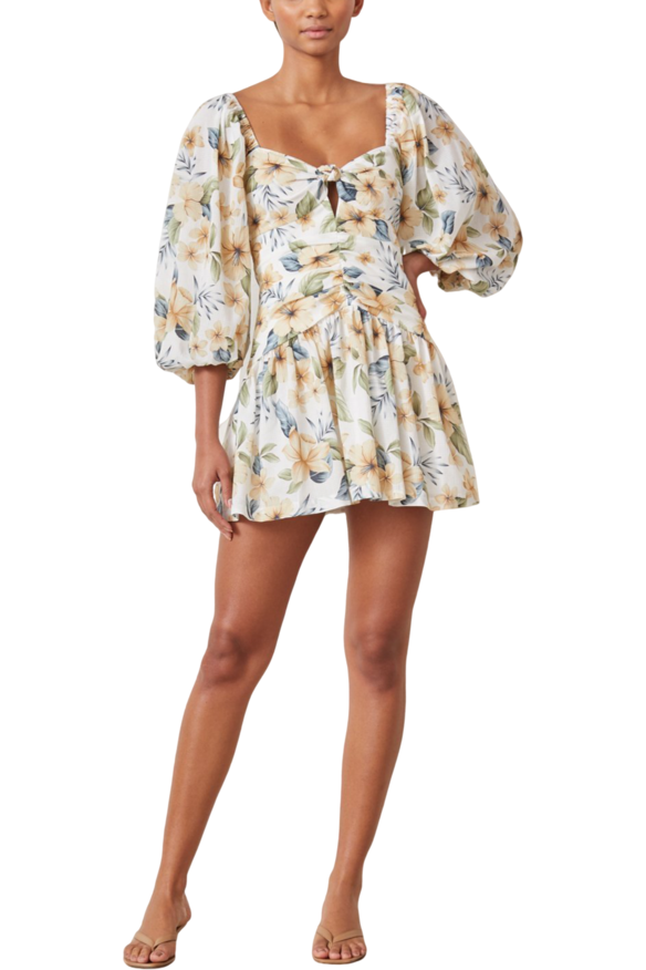Hire Fleurette Mini Dress by Bec & Bridge