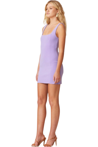 Rent Bec & Bridge Gemma Mini Dress Violet