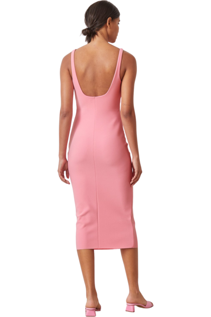Rent Bec & Bridge Paloma Midi Dress Flamingo