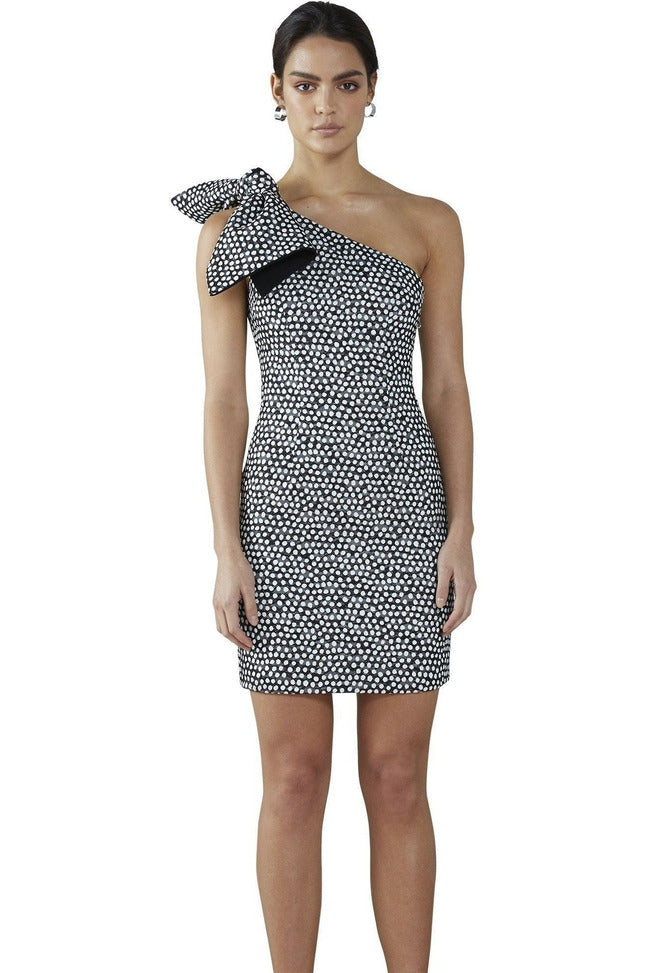 Hire By Johnny Spotty Dotty Mini Dress by By Johnny