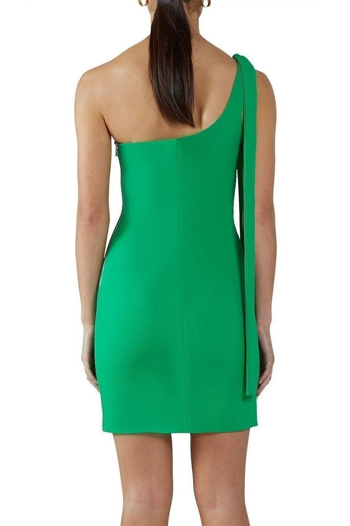 Rent By Johnny One Shoulder Mini Dress