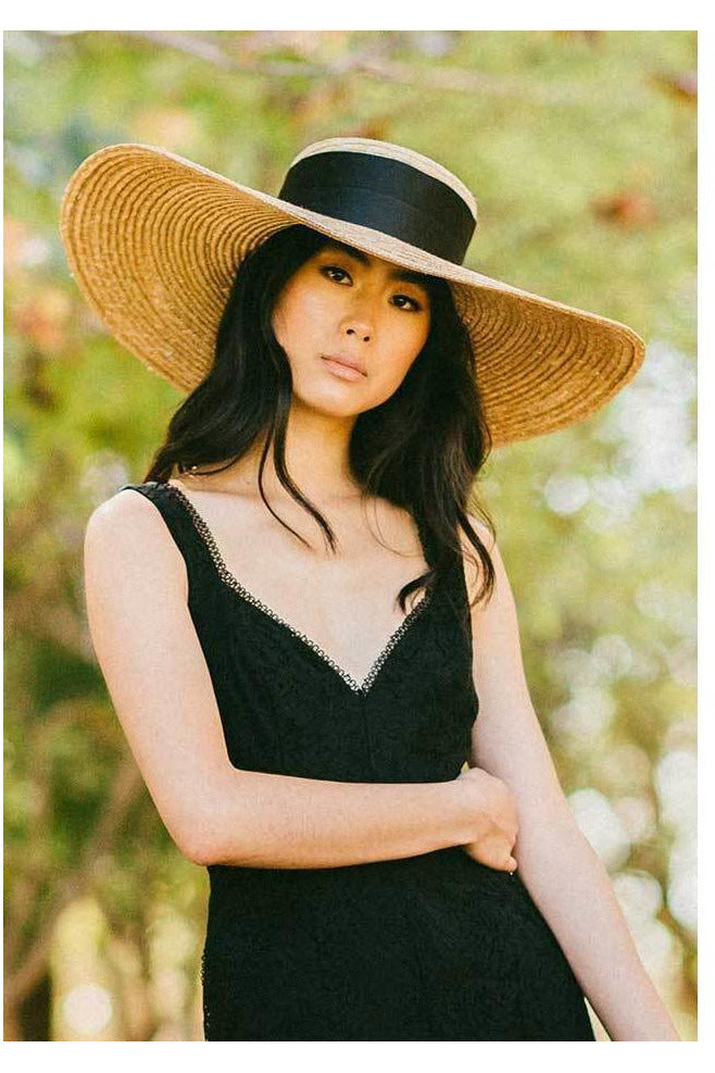 Hire Daniella Black Oversized Hat by Heather McDowall