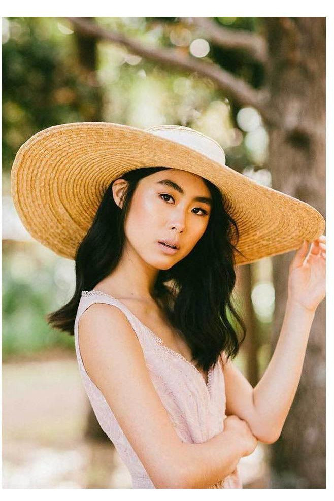 Hire Daniella White Oversized Hat by Heather McDowall