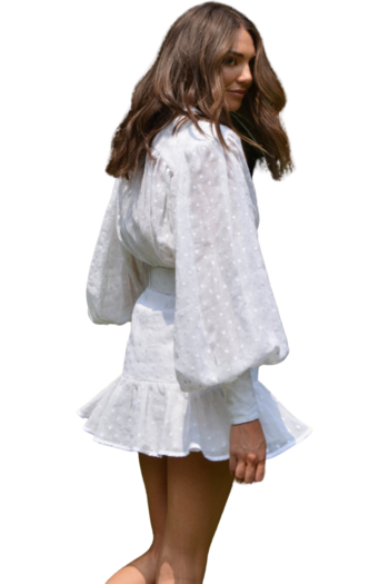 Rent Her Style AU White Embroidered Daisy Dress