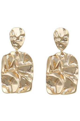 Hire Molly Earrings (Gold) by Jolie & Deen