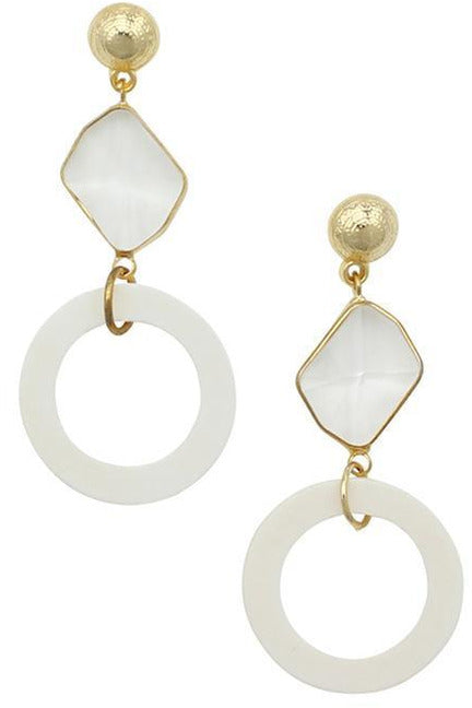 Rent Jolie & Deen Penny Earrings (Gold)