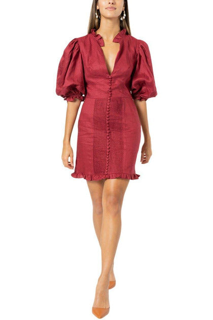 Rent Joslin Studio Riley Cherry Red Dress