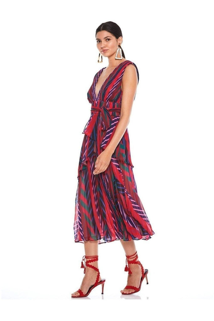 Hire Sugar and Spice Midi Dress Print by La Maison Talulah