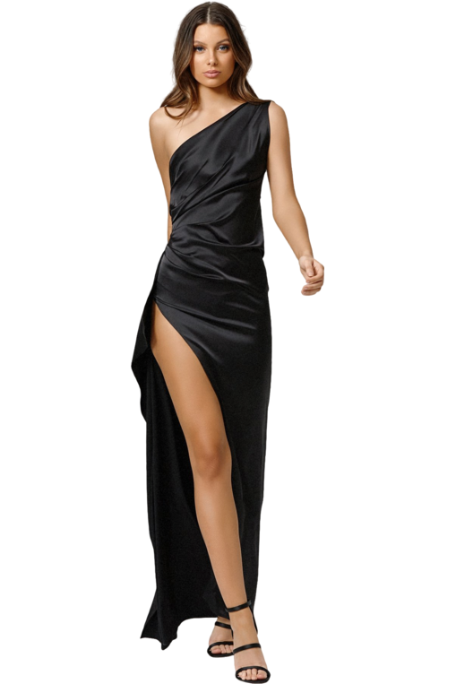 Hire Samira Dress Black by Lexi