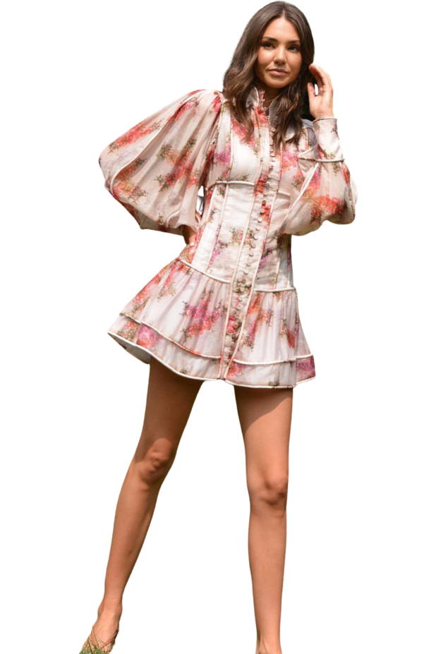 Rent Mackenzie Mode Maverick Dress Floral Bouquet
