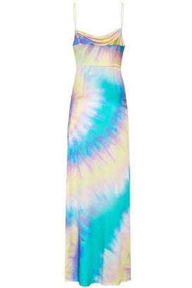 Rent Retrofete Retrofete Marlene Blue Tie Dye