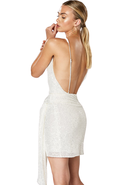 Hire Evolve Backless Dress by Winona