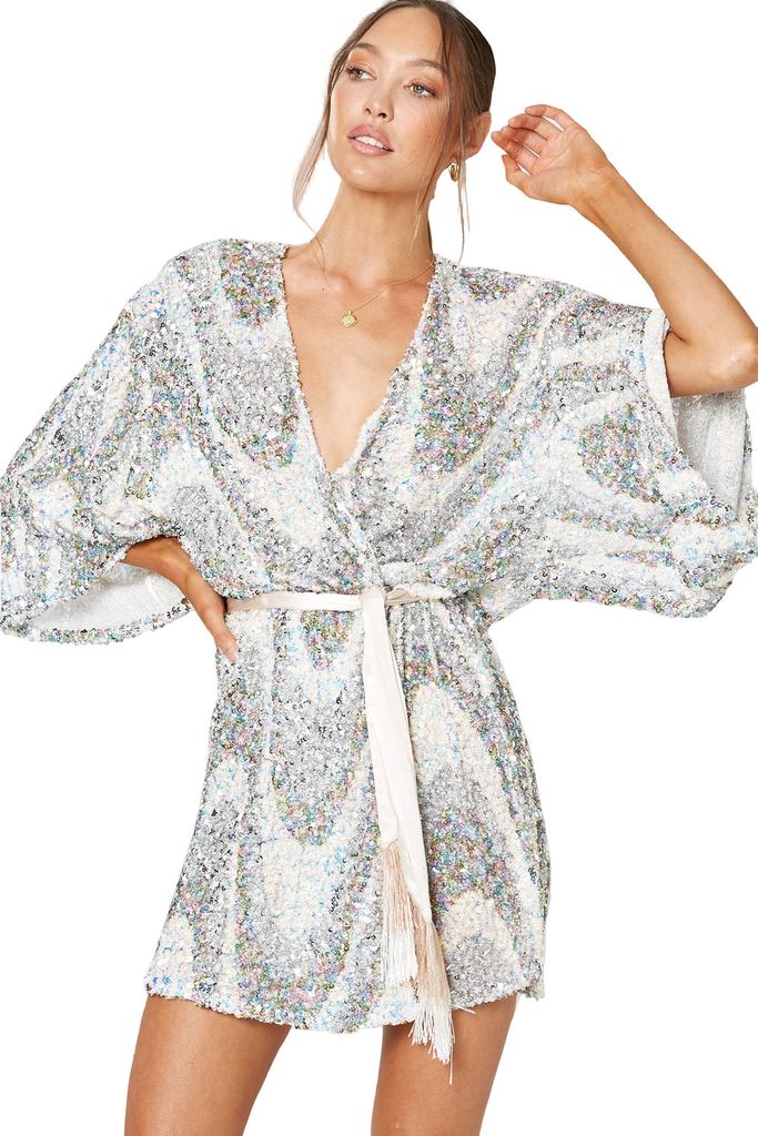 Hire Rhapsody Wrap Dress by Winona
