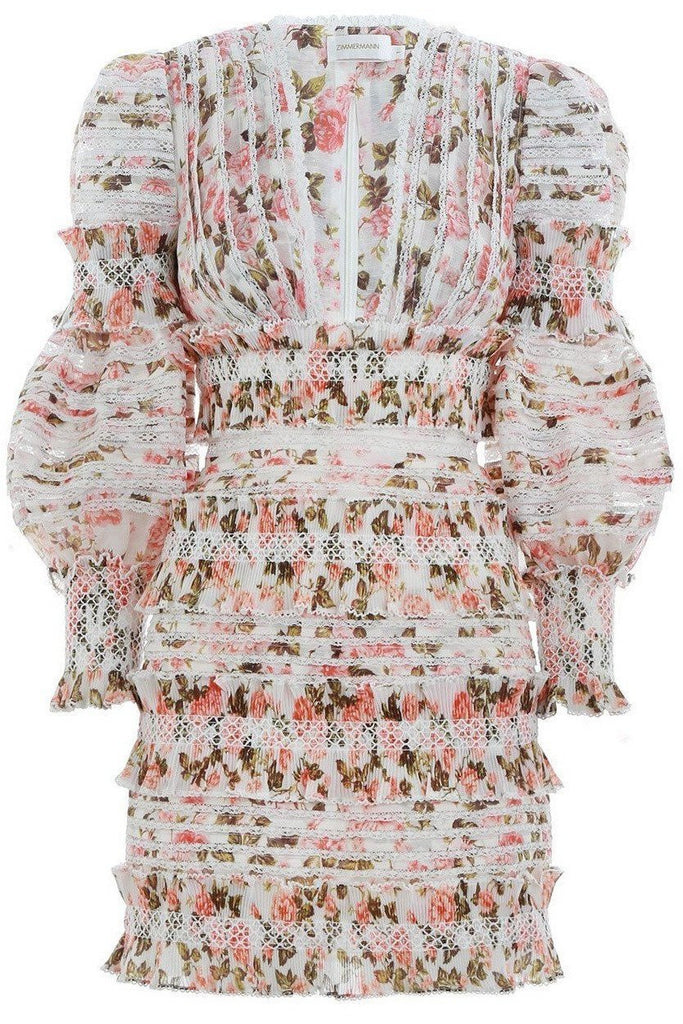 Hire Zimmermann Radiate Dress by Zimmermann