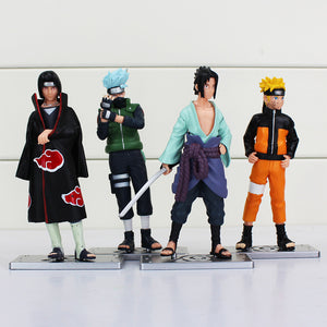 Naruto Anime 17th Generation Sasuke Itachi Kakashi Action Figure
