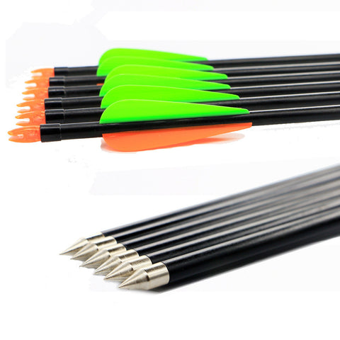 12PK 8mm Plug Glass Arrow