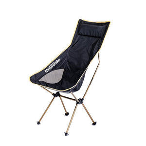 Naturehike Portable Ultralight Collapsible Moon Leisure Camping Chair with Bag for Outdoor Hiking Travel Picnic BBQ Beach Fishing