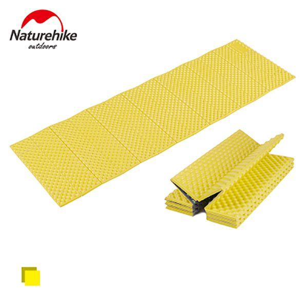 Naturehike EVA Aluminum Foil Camping Mat Portable Outdoor Beach Mat Moistureproof Camping Sleeping Pad Folding Egg Slot Yoga Mat
