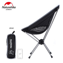 NatureHike Outdoor Folding Chair Portable Folding Camping  Foldable Fishing for Picnic BBQ Beach