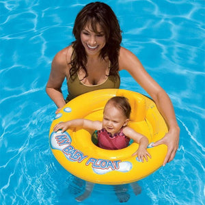 Baby Infant Kids Inflatable Swimming Ring Toddler Seat Pool Float Bath Toy Inflatable Toys Water Fun Swim Traning Toy