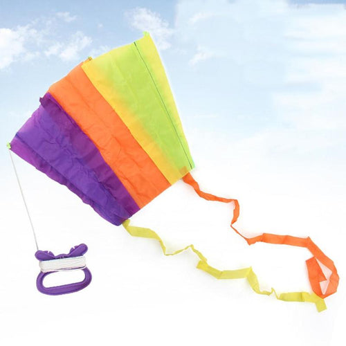 Kids Cloth Pocket Flying Kite Toy Children Foldable Soft Kite Child Ourdoor Play Kite Toys Kids Educational Training Toys