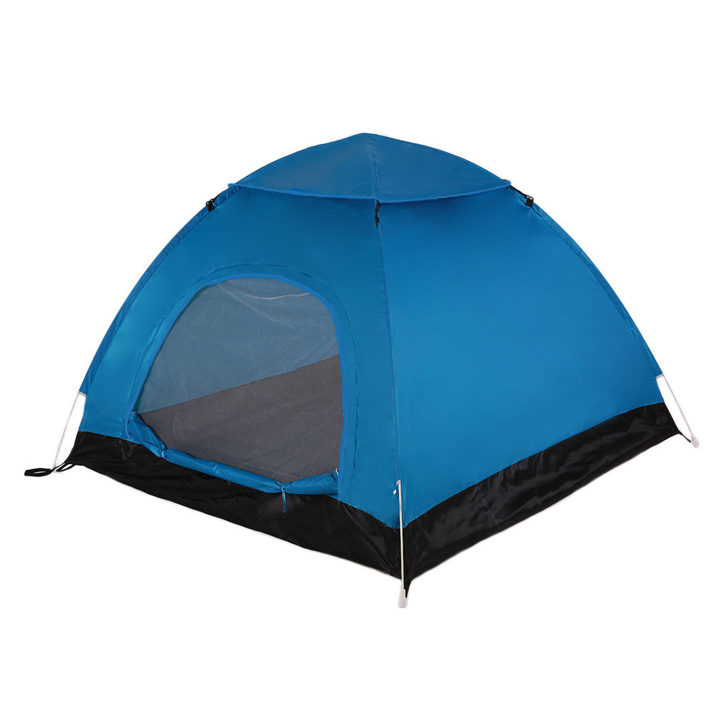 TOMSHOO Outdoor Portable Automatic Pop Up Tent Beach Tent Camping Hiking Backpacking Tent Sun Shelter for 2-3 Person