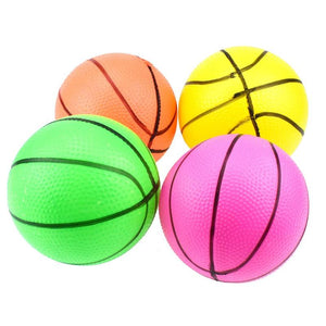 1PC 10cm Mini Inflatable Basketball Toys Children Outdoor Sports Play Toys Kids Hand Wrist Exercise Ball Sport Toys Random Color