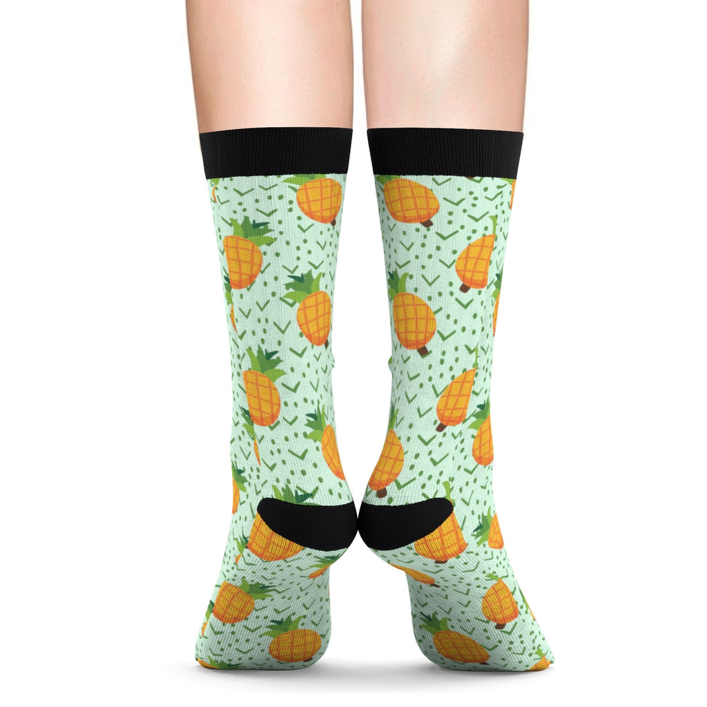 Tropical Pineapple Socks
