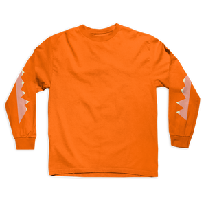 Orange Long Sleeve Tee + Digital Album