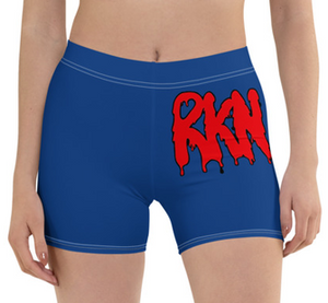 RKN Biker Shorts (Blue & Red)