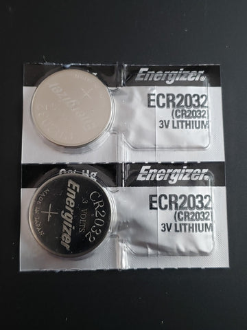 CR2032 Batteries 2 Pack