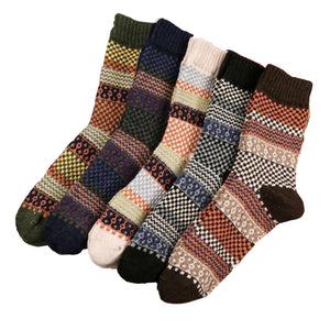 Warm Multi Colour Sock (5 Pack)