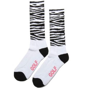 Golf Replica Socks B&W (3 PACK)