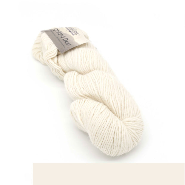 Пряжа Cascade Yarns ECO HIGHLAND DUO - Цвет 2204 Ecru | KatyushaShop.com