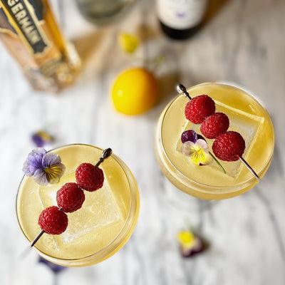 Lavender & Elderflower Gin Sour