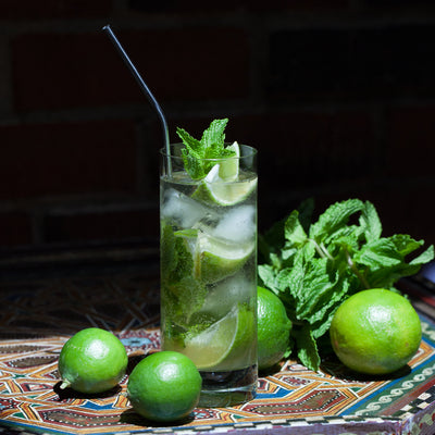 Allspice-Ginger-Lime Cocktail