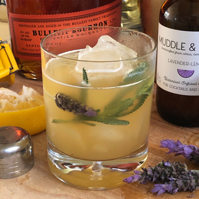 Lavender Whiskey Sour