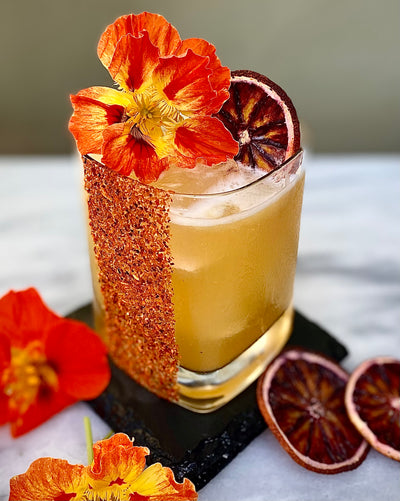 Seedlip & Tamarind-Lime-Chile de Arbol Mocktail (spicy)