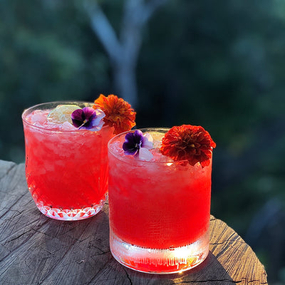 Spicy Sunset Margarita