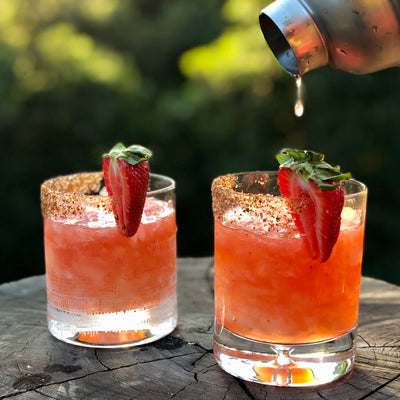 Spicy Strawberry Margarita
