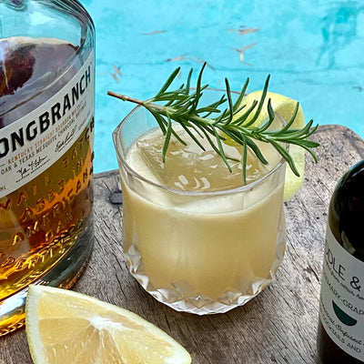 """Brown Derby"" Riff with Rosemary-Grapefruit"