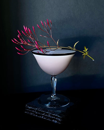 Whiskey Sour Riff with Hibiscus-Clove-Orange