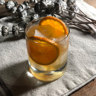 Old Fashioned with Cinnamon-Orange-Star Anise